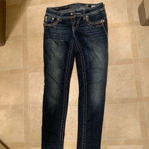 Miss me dark denim jeans